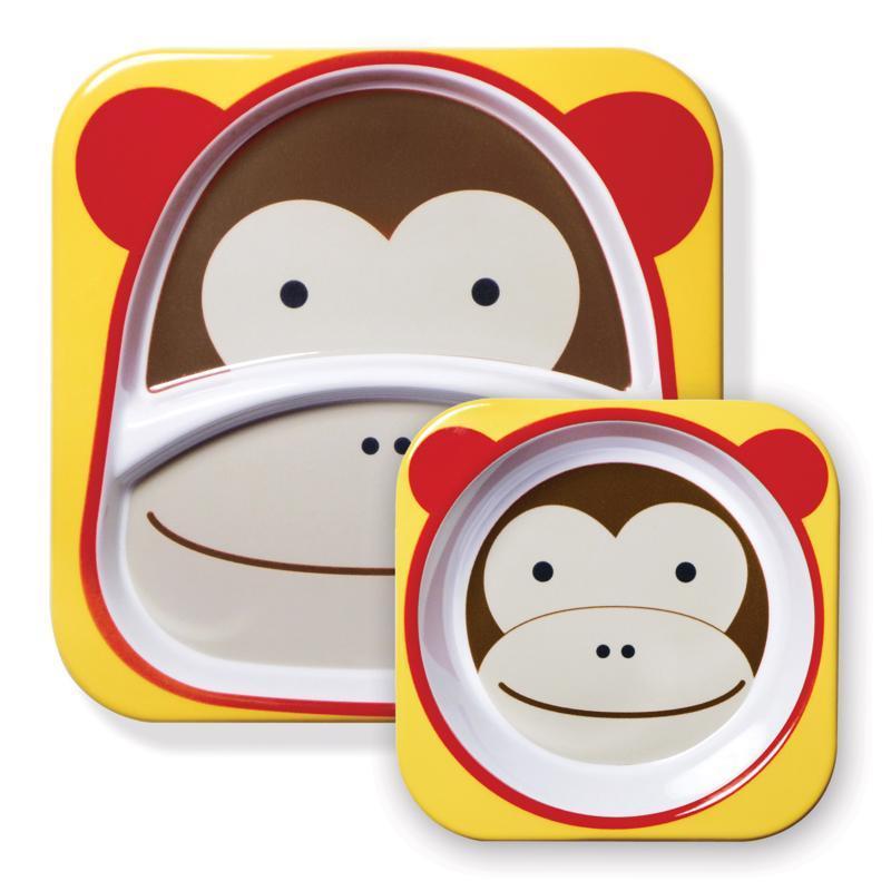 Zoo Jedálenský set melamínový Opička 6m+