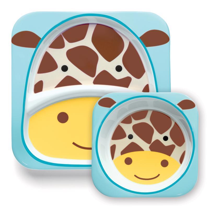 Zoo Jedálenský set melamínový Žirafa 6m+