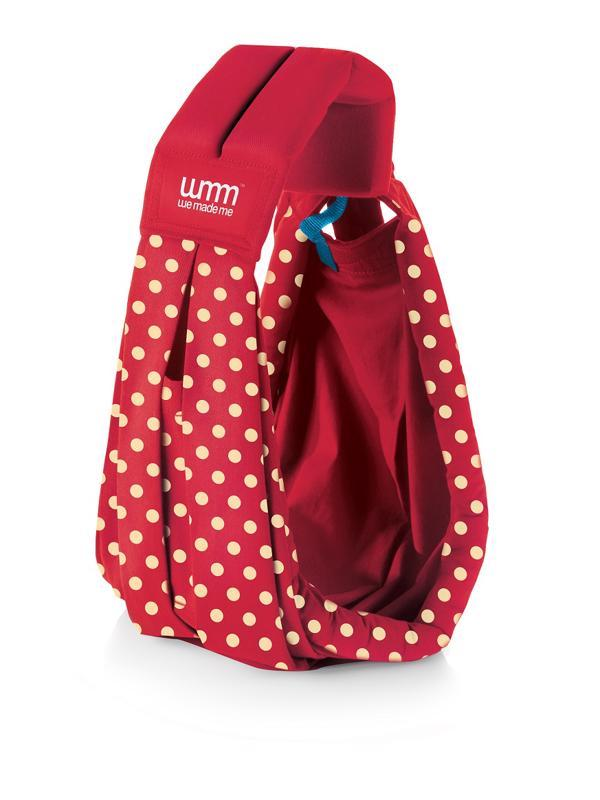 WE MADE ME Nosič Soohu Sling – Polka Red Special Edition