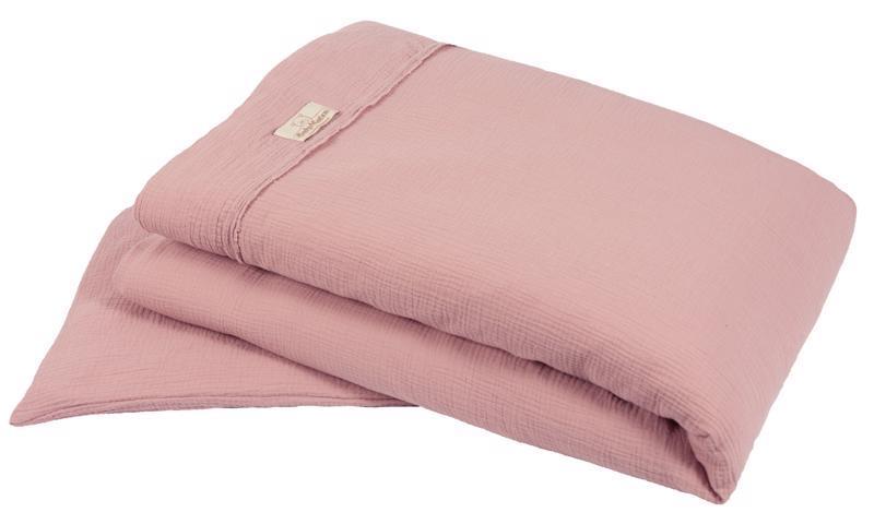 Bielizeň posteľná Muslin Svetlo Ružová 2-dielna