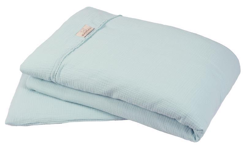Bielizeň posteľná Muslin Svetlo Tyrkysová 2-dielna