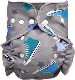 T-TOMI Plena kalhotková - přebalovací set patentky, trainers