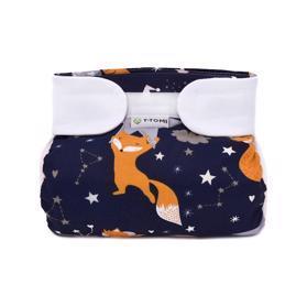 T-TOMI Kalhotky abdukční ortopedické - suchý zip, Night foxes (5-9 kg)