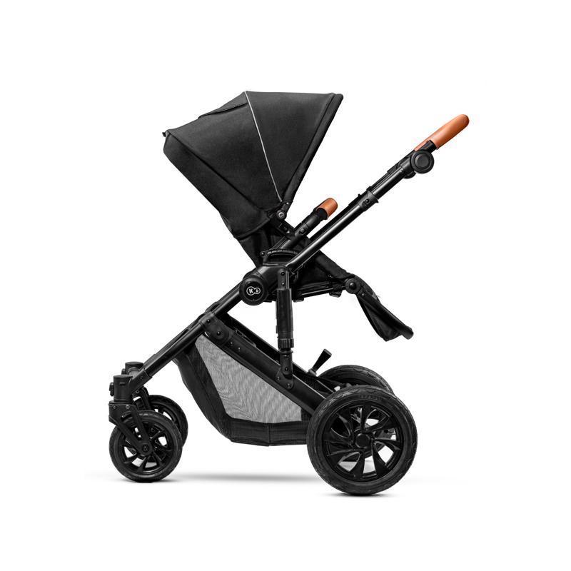 Kočík kombinovaný Prime 3v1 black Kinderkraft + Deka na hranie