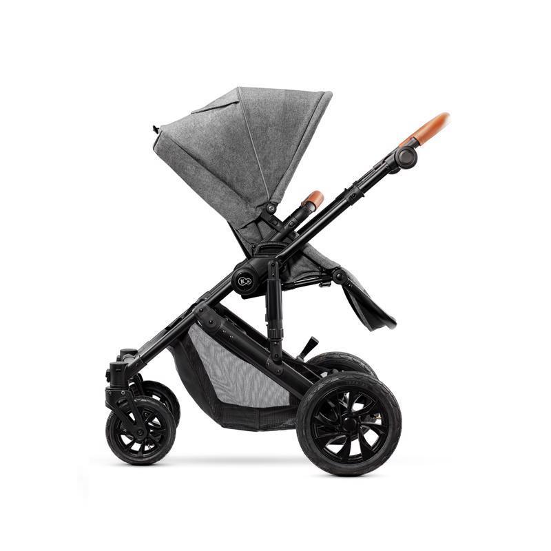 Kočík kombinovaný Prime 3v1 grey Kinderkraft + Deka na hranie