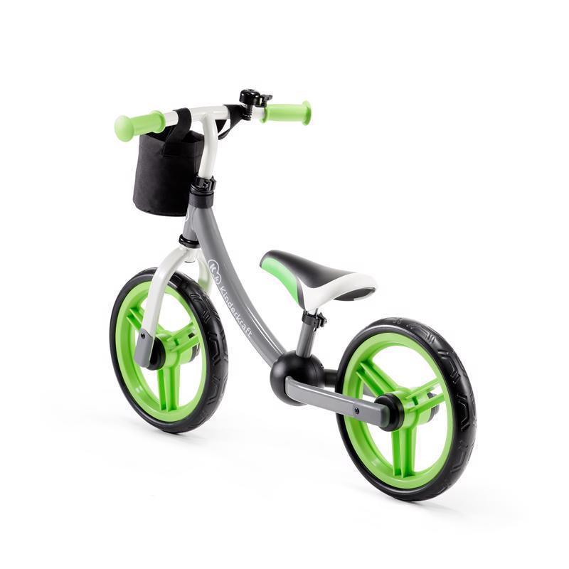 PETITE&MARS Kočík športový Easy - Iron Green + Dětské odrážedlo 2way Next Green/Gray