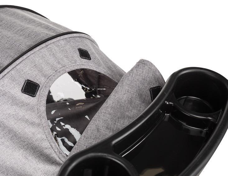 PETITE&MARS Kočík športový Easy - Shadow Grey + Dětské odrážedlo 2way Next Turquoise