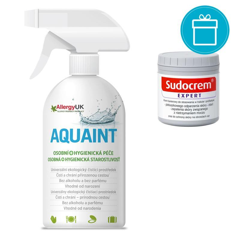 SUDOCREM Krém Sudocrem Expert 125 g + AQUAINT 500 ml
