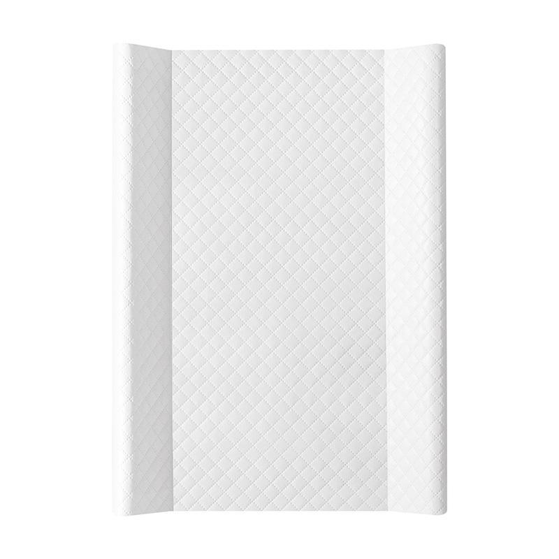 CEBA Prebaľovacia podložka mäkká 70 x 50 cm Caro – biela