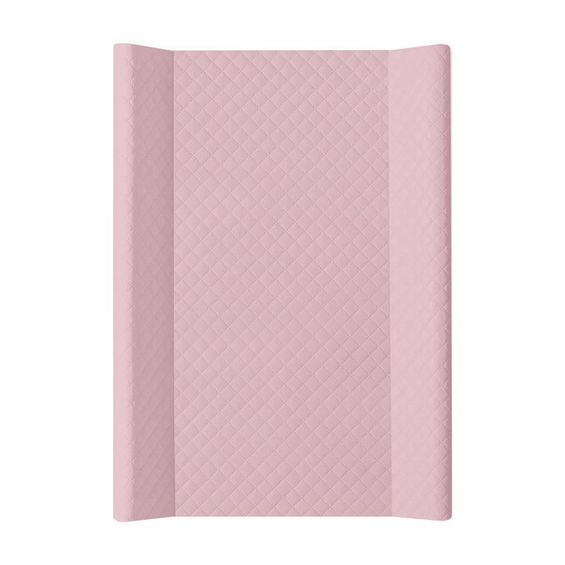 CEBA Podložka prebaľovacia mäkká 2hranná 70 x 50 cm CARO Pink Ceba