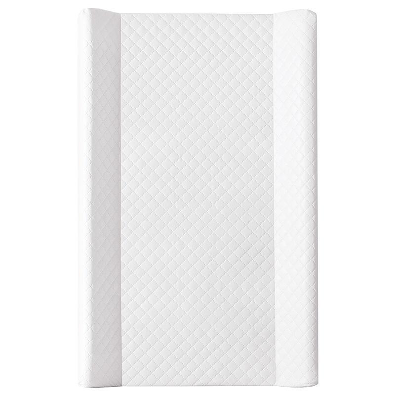 CEBA Prebaľovacia podložka tvrdá MDF 80 x 50 cm Caro – biela