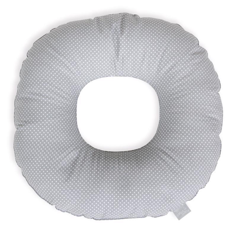 Vankúš popôrodný kruh Malé Bodky bielo-šedé