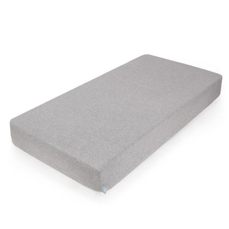 CEBA Plachta Žerzej napínacia s gumou 120 x 60 Light Grey Melange