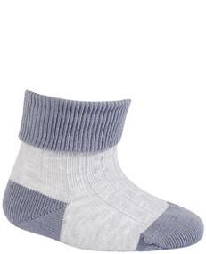 WOLA Ponožky dojčenské bavlnené neutrál Grey 15-17
