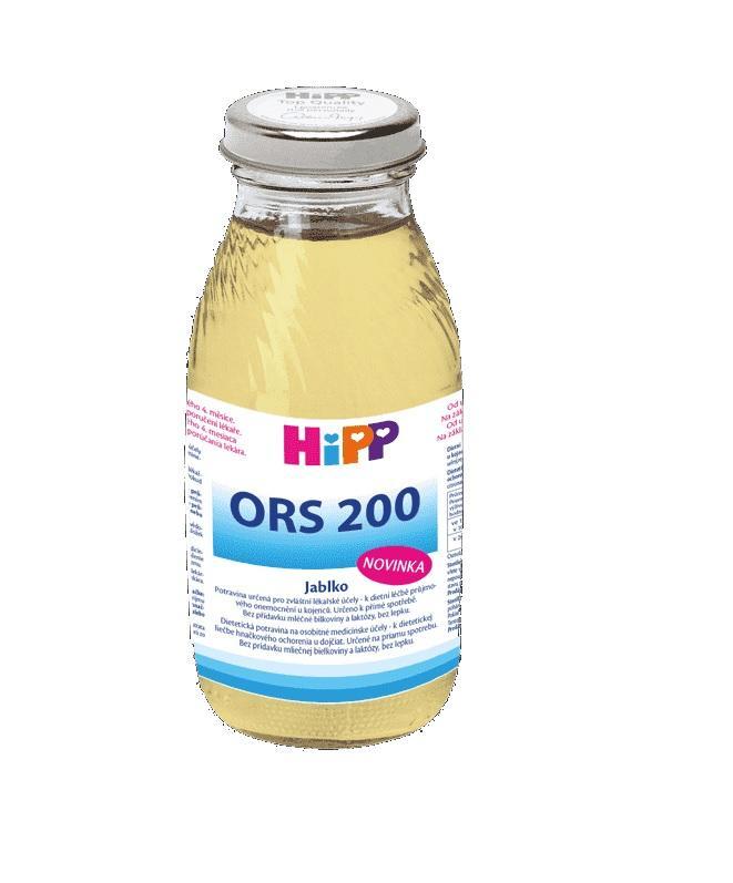 HiPP ORS 200 Jablko - rehydratační výživa 200 ml