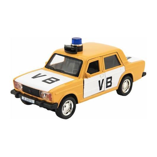 TEDDIES Policajné auto VB 11,5 cm na spätné natiahnutie so zvukom