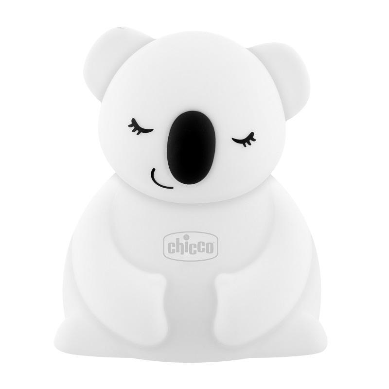 CHICCO Lampička noční světlo dobíjitelné, přenosné - Koala