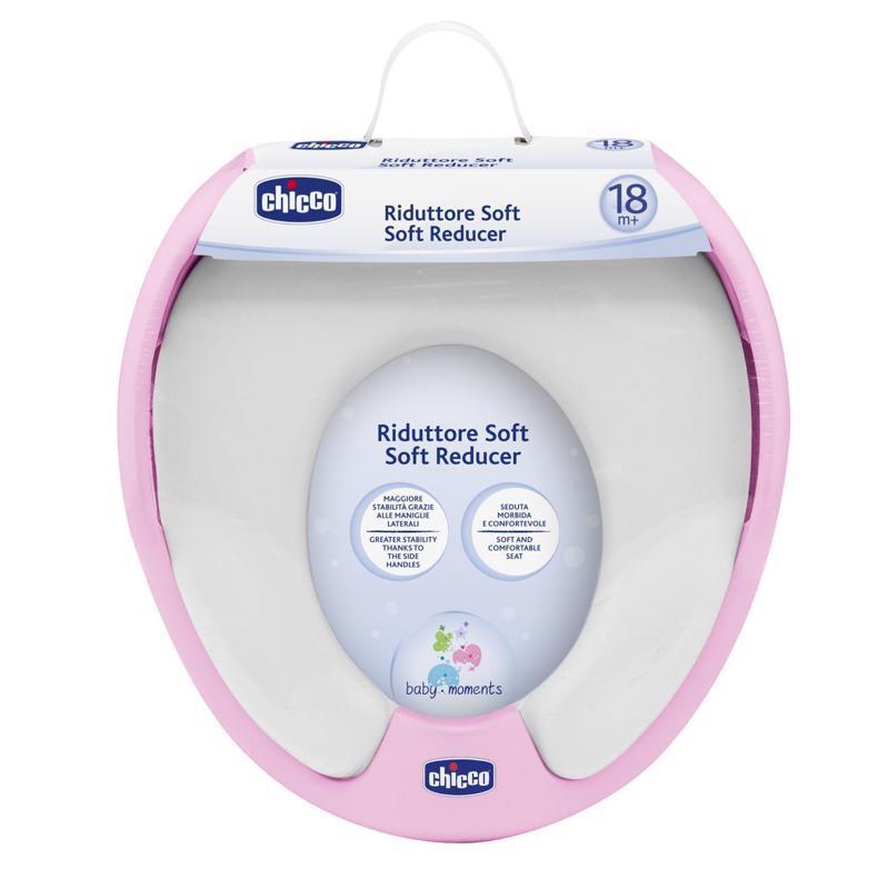 CHICCO Adaptér na WC Soft ružový