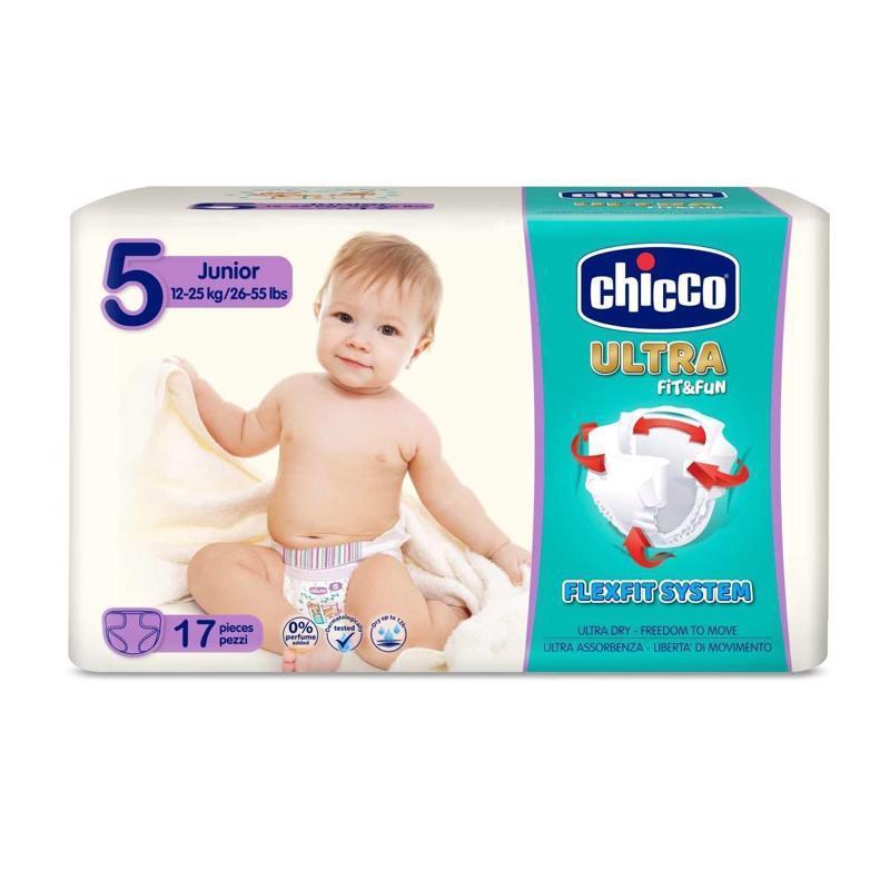 Plienky Chicco Ultra Junior 12-25kg 17ks