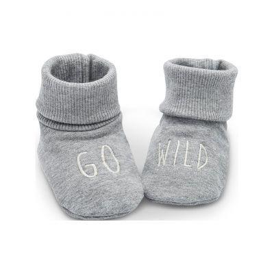 PINOKIO Capáčky/ ponožky Wild Animals veľ. 68 /74 šedé