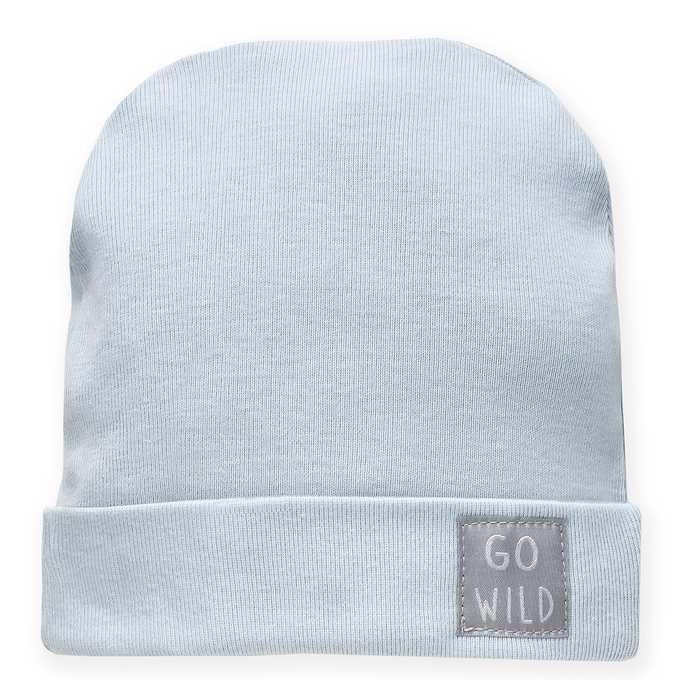 PINOKIO Čiapka Wild Animals veľ. 68 modrá