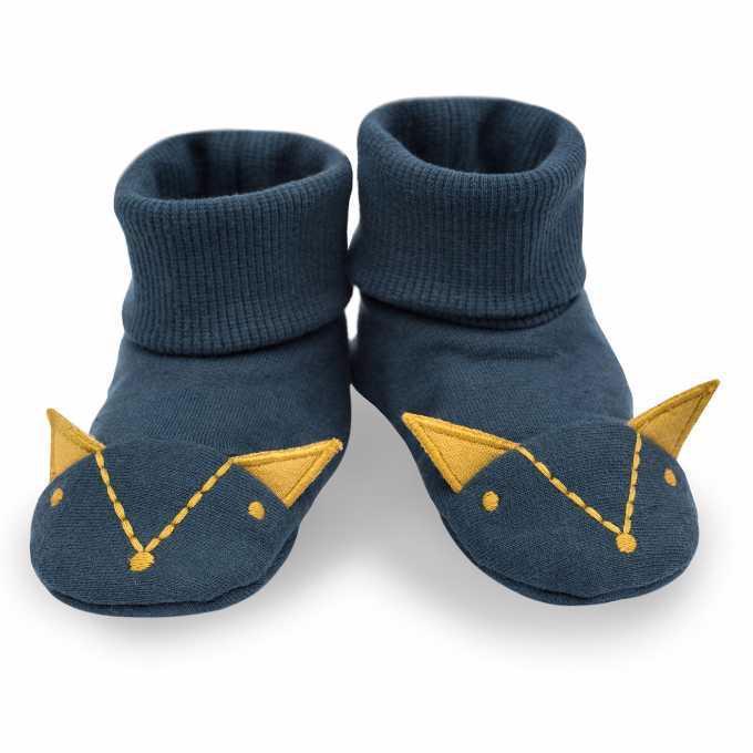 PINOKIO Capáčky/ponožky Secret Forest veľ. 68 /74 navy