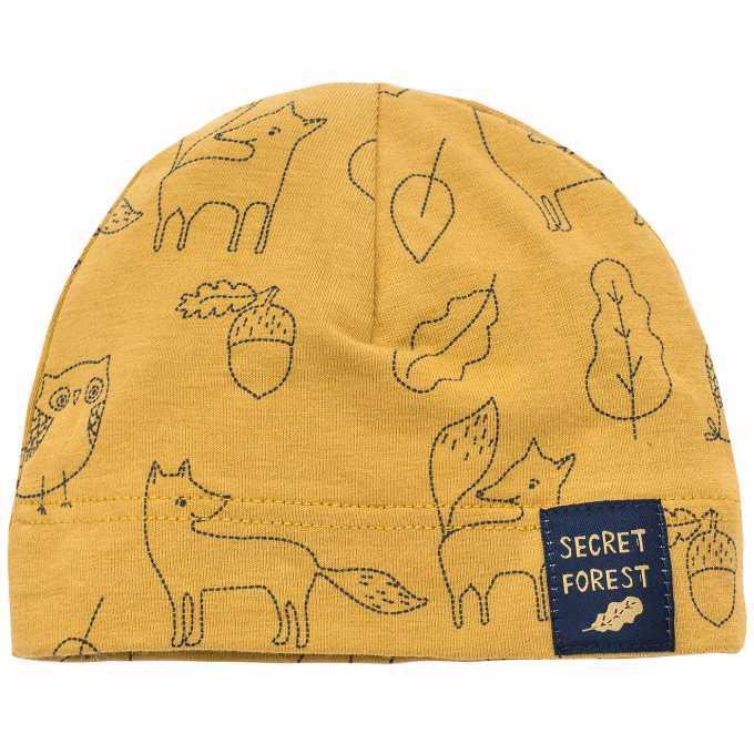 PINOKIO Čiapka Secret Forest veľ. 74 kari animal