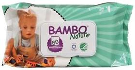 BAMBO Nature Utierky vlhčené 80 ks