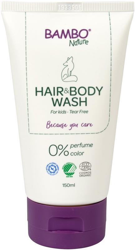 BAMBO Nature Gél umývací na vlasy a telo 150 ml, neparfumovaný