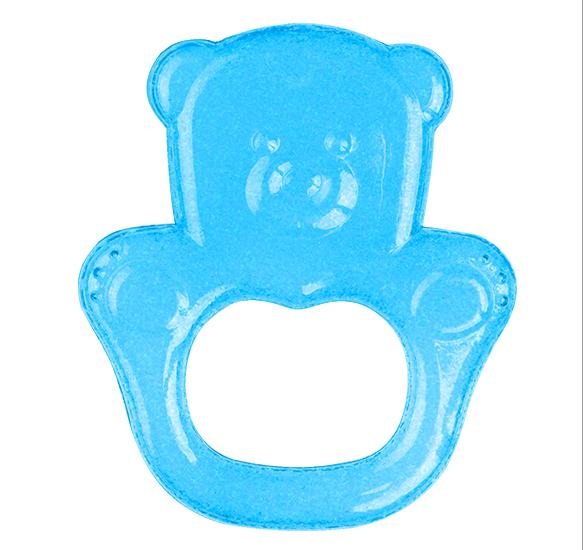 Kousátko chladící medvěd - modrá