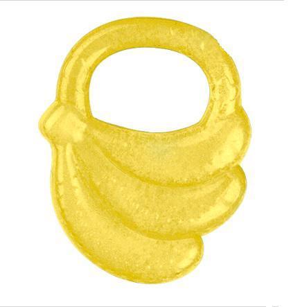 Kousátko chladící banán - žlutá