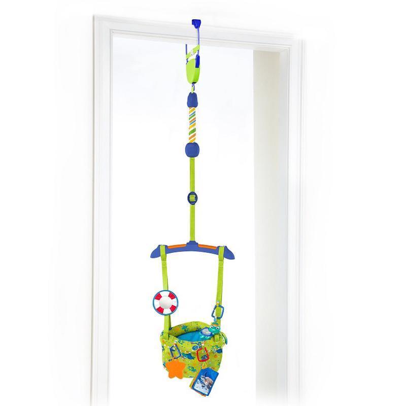 BABY EINSTEIN Skákadlo do dverí Sea&Discover 6m+, do 11kg