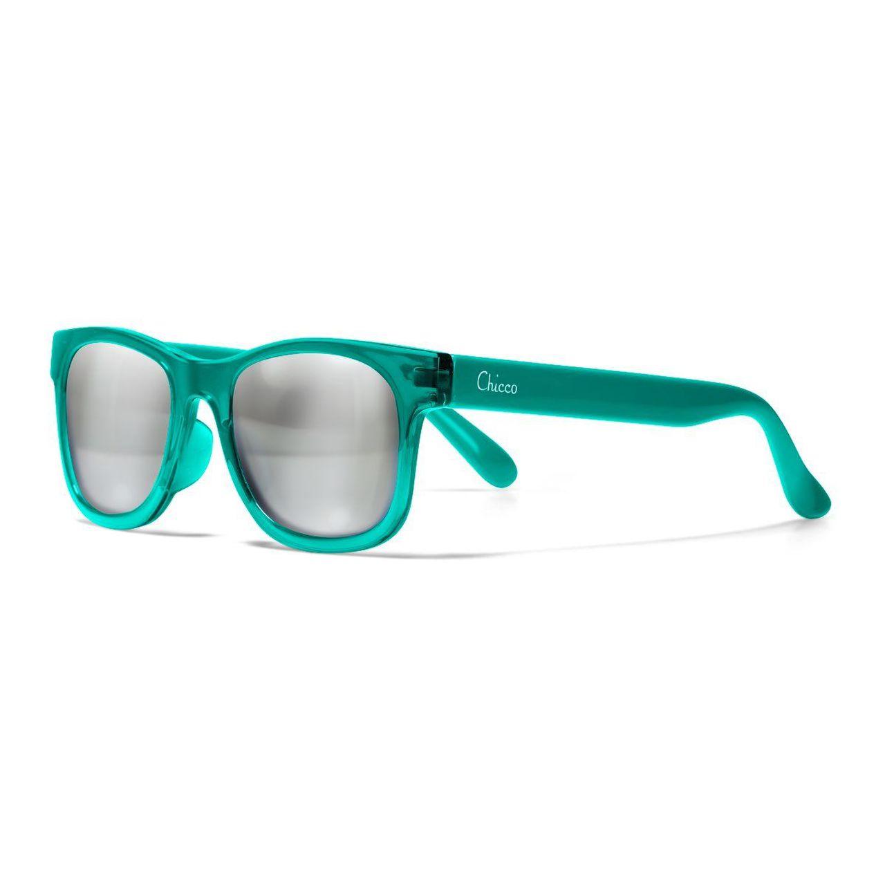 CHICCO Okuliare slnečné chlapec zelené transparent 24m+