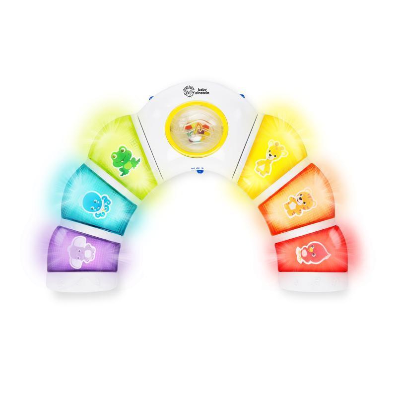 BABY EINSTEIN Aktívny svietiaci panel Glow & Discover Light Bar™ 3m+