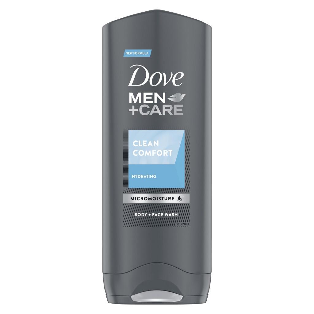 DOVE Gél sprchovací Men+Care Clean Comfort 250ml