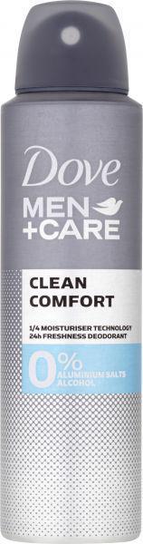 DOVE Deo sprej Men+Care Clean Comfort Alu-free 150ml