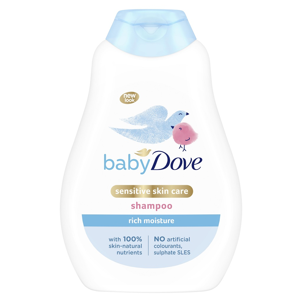 BABY DOVE Šampón detský 400ml