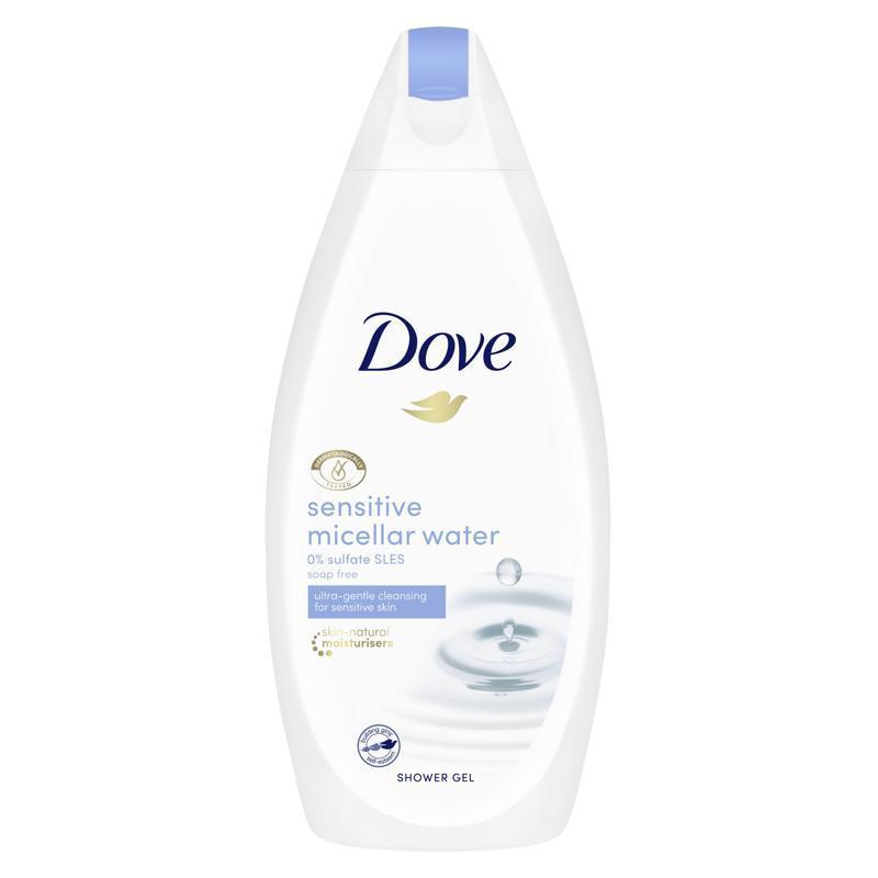 DOVE Gél sprchovací micelárny Sensitive Skin 500ml
