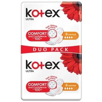 KOTEX Vložky Ultra Normal Duo Pak 16 ks