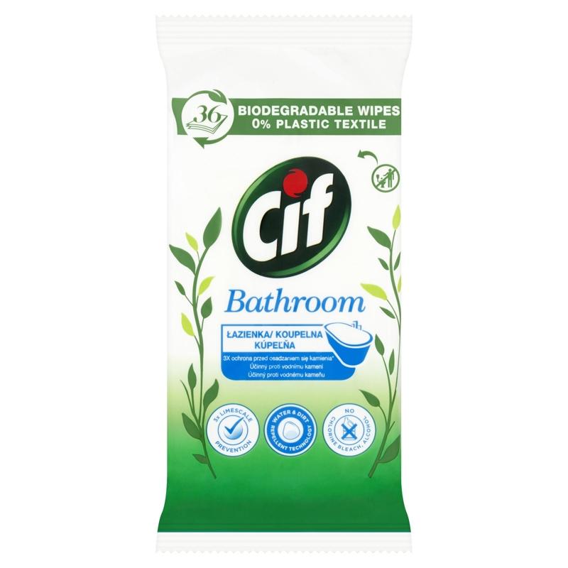 CIF Kúpeľňa čistiace utierky 36 ks