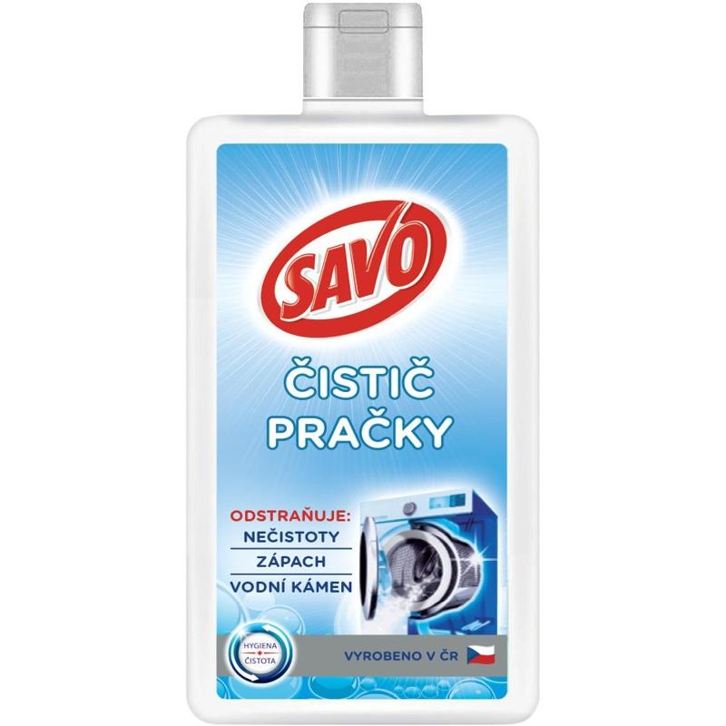 SAVO Čistič práčky 250 ml