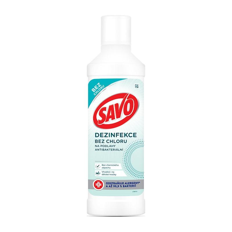 SAVO Bez chlóru Na podlahy antibakteriálne 1000 ml