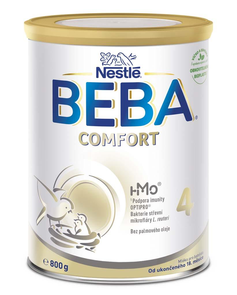 BEBA COMFORT 4, Mlieko batoľacie 800 g