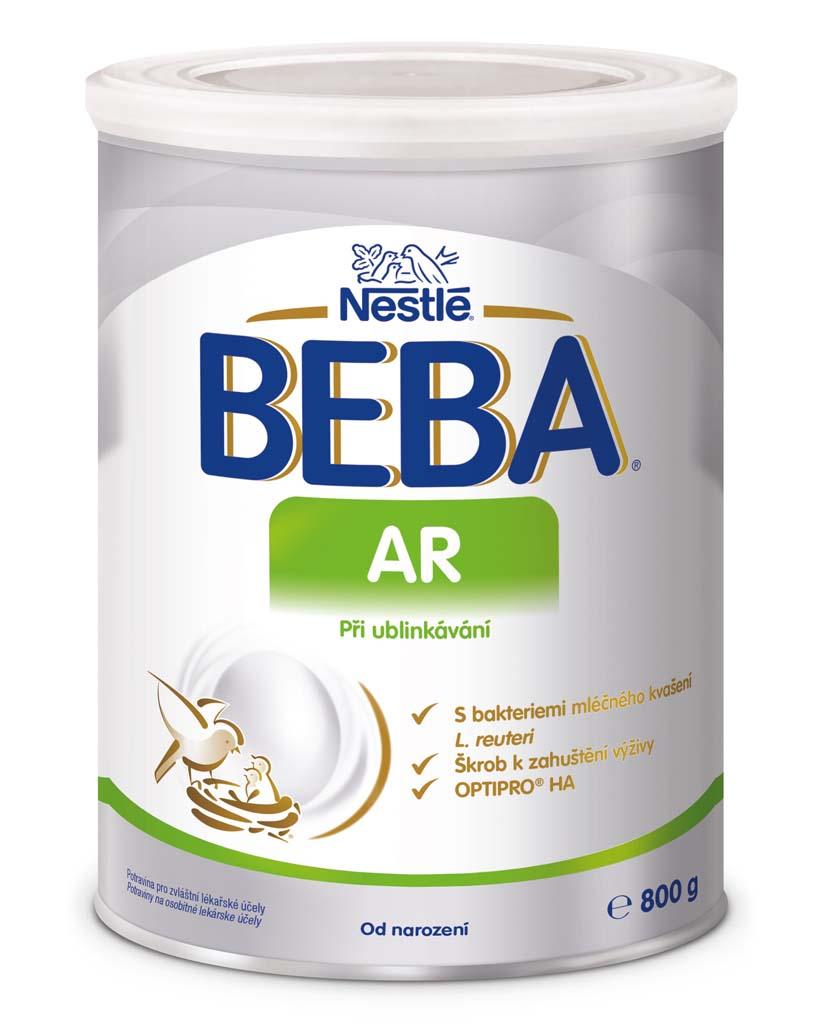 BEBA AR, Mliečna počiatočná výživa pri vracaní 800 g