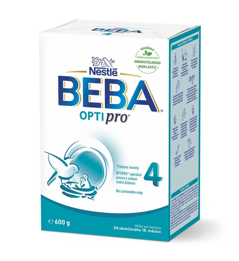 BEBA OPTIPRO 4, Mlieko batoľacie 600 g