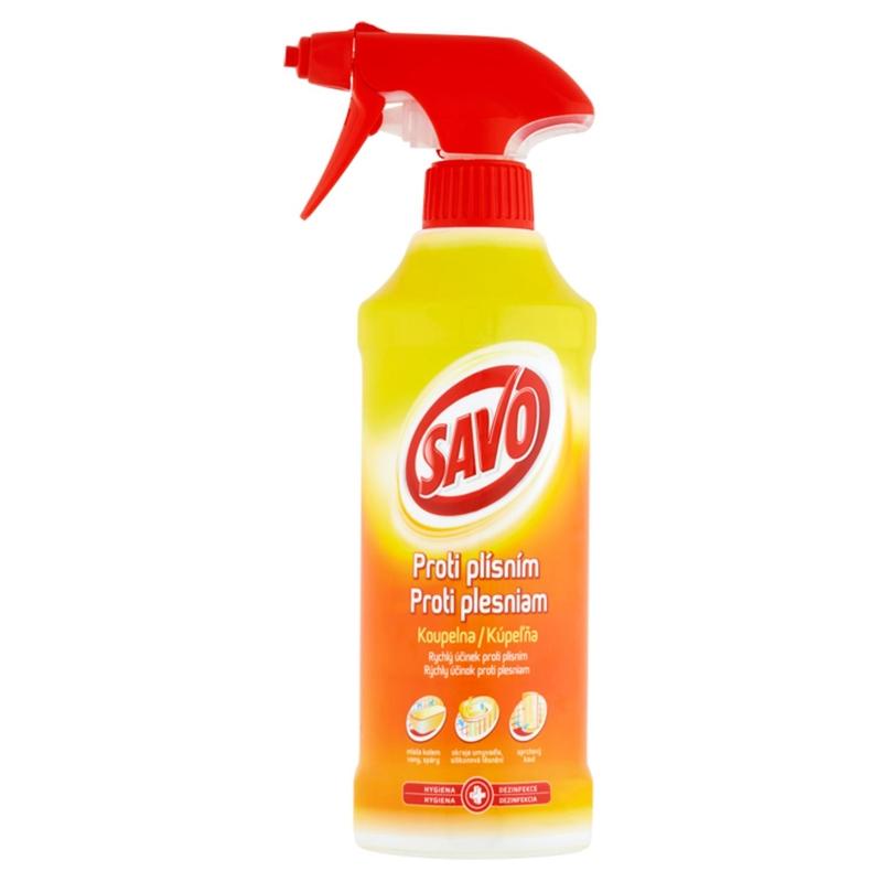 SAVO Proti plesniam kúpeľňa 500 ml