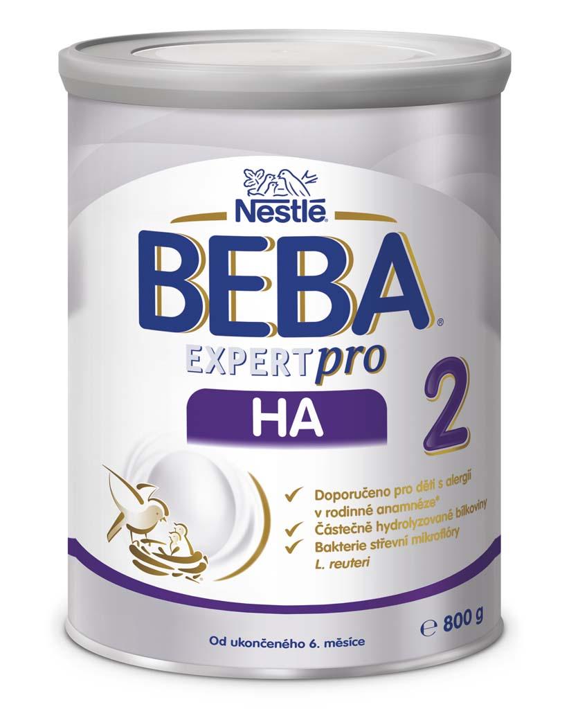 BEBA EXPERTpro HA 2, Mliečna pokračovacia výživa 800 g