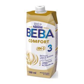 BEBA COMFORT 3 HM-O, Tekutá batoľacia mliečna výživa 12+, tetra pack, 500 ml EXPIRÁCIA 31.07.2021