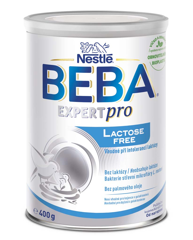 BEBA AL 110 Lactose free, Mliečna počiatočná výživa 400 g