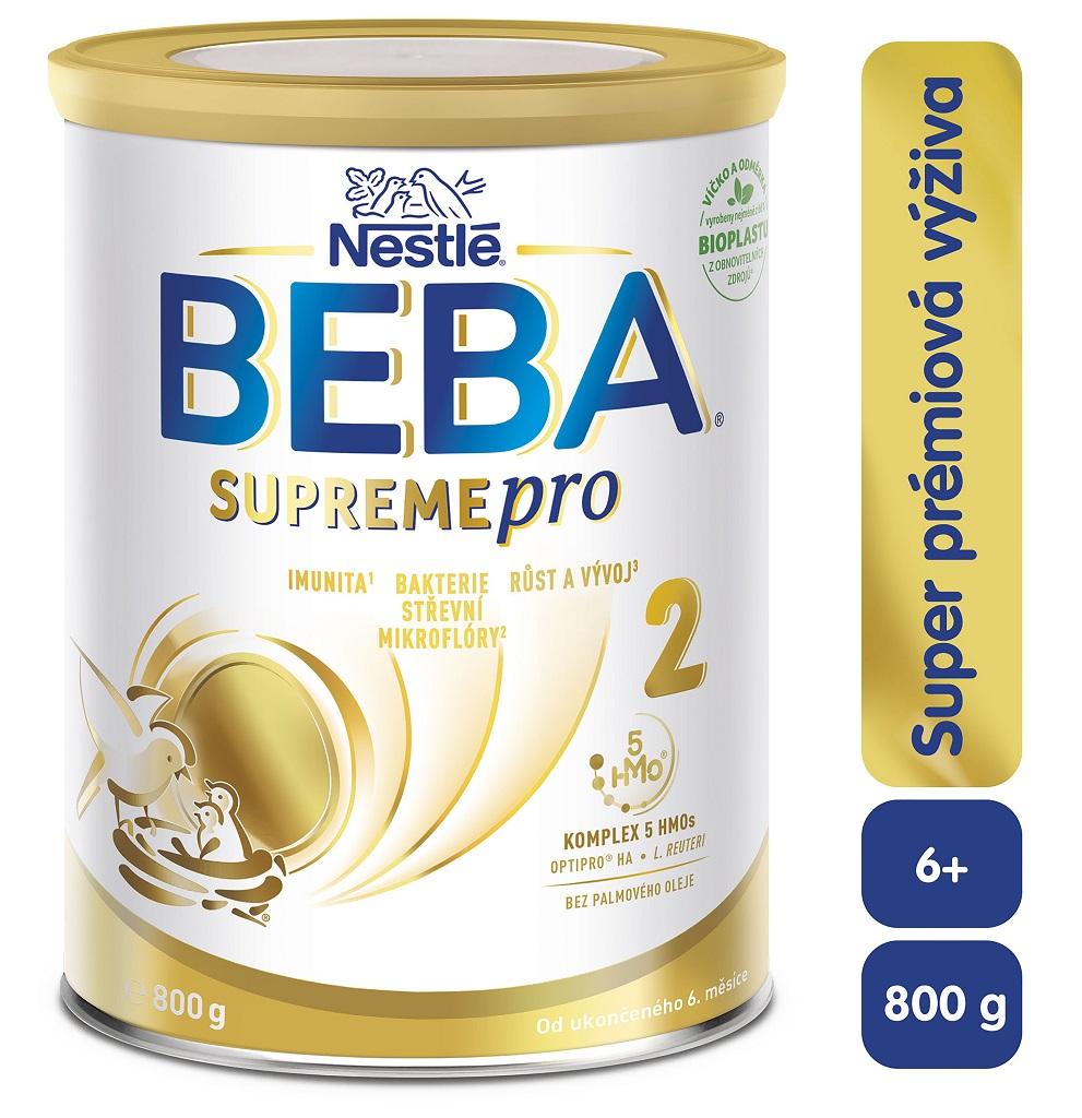 BEBA SUPREMEpro 2, Mliečna pokračovacia výživa 800 g